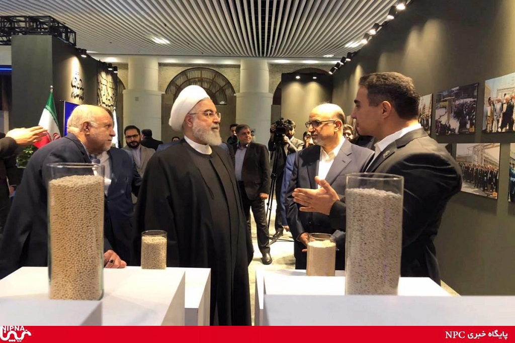 Nitel Pars Co. at showcase of petrochemical achievements